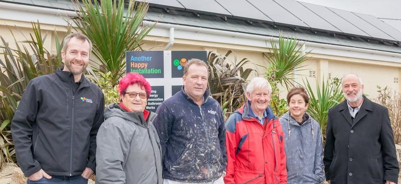 Perranporth Gardens Charity Solar Installation