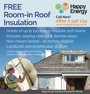 Free Room in Roof Insulation Now Available