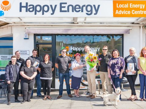 PERRANPORTH ENERGY ADVICE CENTRE OPENS